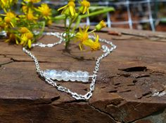 Hey, I found this really awesome Etsy listing at https://www.etsy.com/listing/233010649/rainbow-moonstone-necklace-june