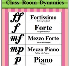 Free! Dynamic Poster to put in your music studio. Free on  music games #music #piano music theory