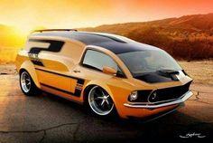 Boss 302 concept Van #conceptcars