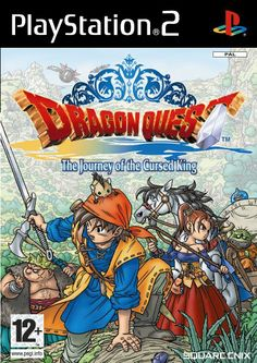 Dragon Quest: The Journey of the Cursed King (PS2) - http://www.cheaptohome.co.uk/dragon-quest-the-journey-of-the-cursed-king-ps2/