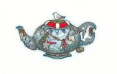 Lifesaver Teapot by Tracy Paul