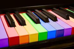 Rainbow piano; very much 'my cupa tea'...lol (7 notes, 7 colors....) ;-) r