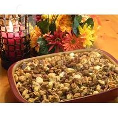 Apple, cranberry and sausage stuffing @ allrecipes.co.uk