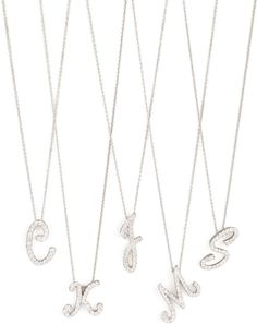 Roberto Coin Diamond Initial Necklace on shopstyle.com