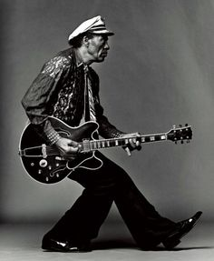 Chuck Berry....i was named after a song from this incredible musician :)