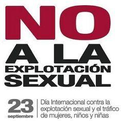 DIA CONTRA LA EXPLOTACION SEXUAL - Buscar con Google