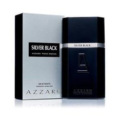 Silver Black by Azzaro 3.4 oz EDT Cologne for Men New In Box (Only Ship to United States)