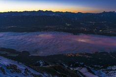 leuchtendes Innsbruck Innsbruck, Mountains, Nature, Travel, Scenery Photography, Wall Prints, Naturaleza, Viajes, Destinations
