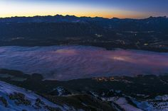 leuchtendes Innsbruck