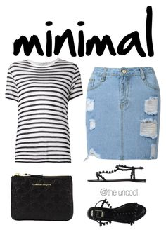 """""""Untitled #24"""" by the-uncool-collective on Polyvore featuring Comme des Garçons, T By Alexander Wang and Christian Dior"""