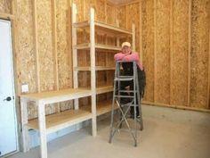 Garage Shelves Basics