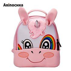 Unicorn Kindergarten Kid Backpacks Baby Boy Zoo Animal Bookbag Girls Cute  Giraffe Schoolbag Backpack Children Cartoon Mochila Review 53edc192ad1e0