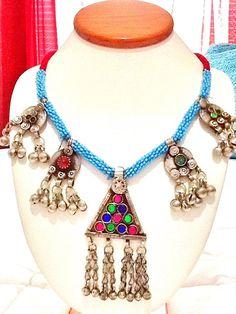 SALE KUCHI  NECKLACEbelly dance necklace tribal by Nezihe1 on Etsy