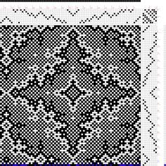 draft image: snakeskin, Draft 45548 Corrected, 8S, 8T