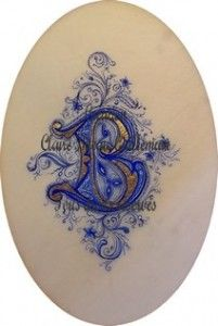 Initial Art, Beautiful Calligraphy, Illuminated Letters, Caligraphy, Letter Writing, Alphabet, Painting, Illustrations, Logos