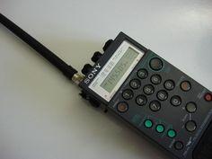 SONY PLL SYNTHESIZED RECEIVER SHORTWAVE RADIO SCANNER AIR-7  PSB-AIR-FM-AM