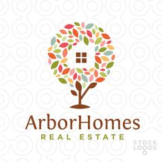 Exclusive Customizable Logo For Sale: Arbor Homes