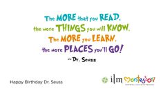 Quote by Dr Suess