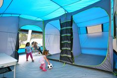 SUNNCAMP PITCHMASTER 600 - Is this the first family tent with 2 reception rooms? The SunnCamp Pitchmaster 600 is now back in stock!