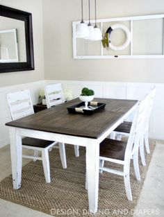 10 DIY dining table ideas - build your own table   Pinterest ...