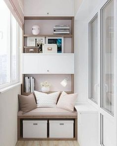 99 schöne Balkon Design-Ideen - Style Motivation - Home Design Gallery - Fitness and Gym Decor, Relaxation Room, Apartment Furniture, Room Design, Interior, Apartment Design, Home Decor, House Interior, Apartment Balcony Decorating