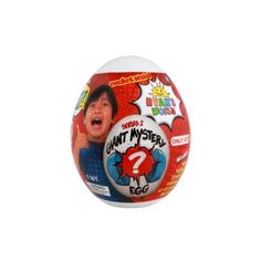 Ryan's World Target Exclusive Giant Egg Surprise - Color May Vary, Adult Unisex Squishy Pops, Ryan Toys, Playing With Slime, New Egg, Cheap Toys, How To Make Slime, Top Toys, Children In Need, Toys For Girls