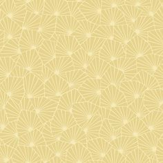 Sample Blomma Yellow Geometric Wallpaper from the Wonderland Collection by Brewster Home Fashions Waves Wallpaper, Chic Wallpaper, Botanical Wallpaper, Embossed Wallpaper, Wood Wallpaper, Damask Wallpaper, Wallpaper Samples, Wallpaper Roll, Yellow Geometric Wallpaper