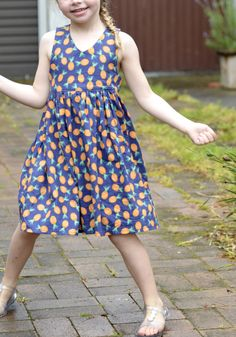 Tea Party Dress – New Pattern Release – maria arana Tadah! Tea Party Dress – New Pattern Release tea party dress Baby Girl Party Dresses, Dresses Kids Girl, Baby Dress, Kids Outfits, Dress Party, Kids Frocks Design, Baby Frocks Designs, Frock Design, Little Girl Fashion