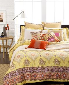 Echo Bedding, Colorful Kilim Comforter And Duvet Cover Sets   Bedding  Collections   Bed U0026 Bath   Macyu0027s Bridal And Wedding Registry
