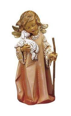 Fontanini Little Shepherd Angel #Fontanini