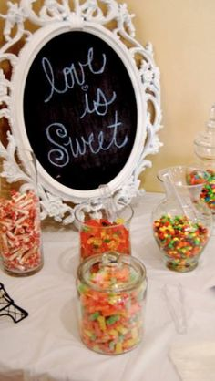 Bridal shower favors- take home candy goodie bags