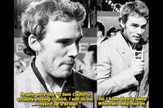 Sam Claflin. I must admit that I had my doubts about him as Finnick, but after seeing Catching Fire, I think he was perfectly cast.