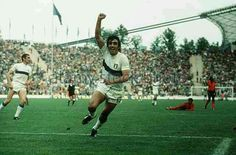 Italy 3 Haiti 1 in 1974 in Munich. Pietro Anastasi came on and scored after 79 minutes in Group 4 at the World Cup Finals.
