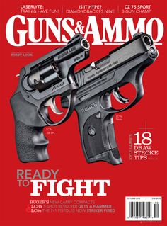 The Ruger® LCRx™ & LC9s™ are featured in, AND on the cover of, the October 2014 issue of Guns & Ammo magazine – in mailboxes & on news stands soon!