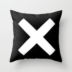 Ex Throw Pillow by Dotiee - $20.00