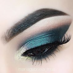 So in #love this #color on #eye