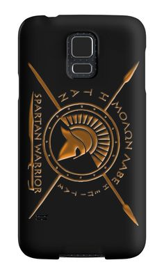 Spartan warrior - Molon lave and come back with your shield or on it   Case Skin for Samsung Galaxy by augustinet 3bba53f067