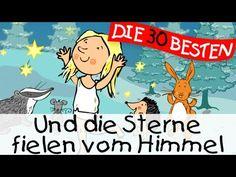 Und die Sterne fielen vom Himmel (Die Sterntaler) - Märchenlieder zum Mitsingen || Kinderlieder - YouTube