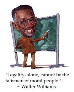Walter Williams on #politics #quotes