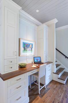 Kitchen Desk Ideas. Kitchen Desk Design. Custom Kitchen desk   Advanced Renovations, Inc.