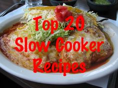 Spend less time planning meals and instead, slow cook using one of 20 recipes and make life a lot easier, and tastier.