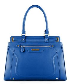 Take a look at this Cobalt Large Chelsea Satchel by Danielle Nicole on #zulily today!