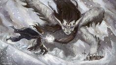 Winter Sphinx by ~vrass on deviantART