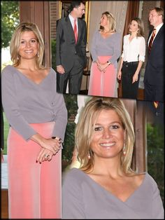 25 Jun 2008 Royals of Netherlands & Spain Queen Of Sweden, Nassau, Instyle Fashion, Spanish Royalty, Spanish Royal Family, Queen Maxima, Love Her Style, Royal Fashion, Powerful Women