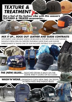 Custom Made Accessories & Apparel The New Wave, Wholesale Bags, Denim Trends, Flannel, Contrast, Fall Winter, Tapestry, Leather, Private Label
