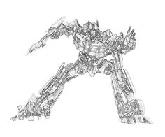 Printable Coloring Book Transformers Fall Of Cybertron Optimus