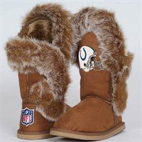 Cuce Shoes Indianapolis Colts Ladies Fanatic Boots
