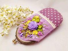Embroidery Purse, Coin Purse, Purses, Wallet, Ribbons, Totes, Coin Purses, Handbags, Purse