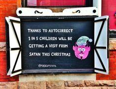 Auto-Correct Christmas
