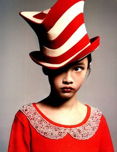 Galleries of haute couture and ready to wear hat collections and handbags. Quirky Fashion, Kids Fashion, Philip Treacy Hats, Dark Beauty Magazine, Crazy Colour, Red Hats, Fedora Hat, Headgear, Headdress
